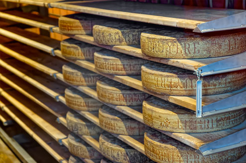 warehouse of cheese