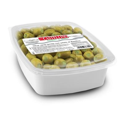 Large Green Olives Stuffed with Green Pesto