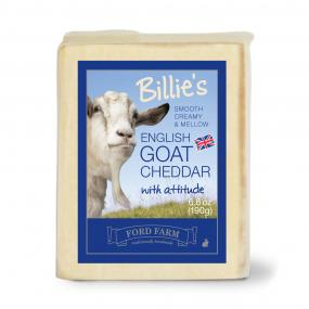 Cheddar Style Billy Goat cheese