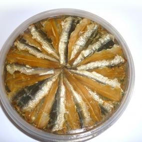 Marinated Smoked Anchovies