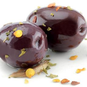 Black Kalamata Olives Marinated (Stone in)