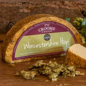 Croome Cuisine Worcestershire Hop Cheddar
