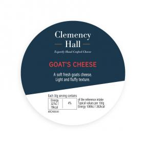 Clemency Hall Rosary Goat Plain Button