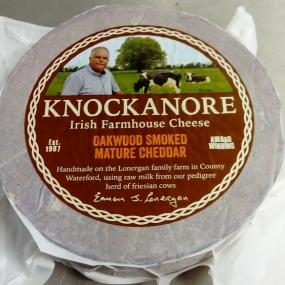 Smoked Knockanore cheese