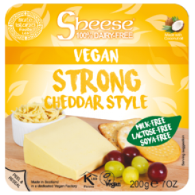 Strong Cheddar style block