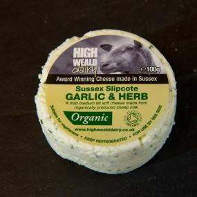 Slipcote garlic and herb cheese buttons