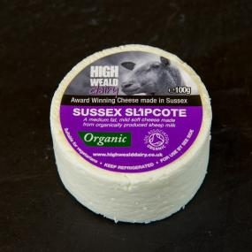 Slipcote button plain cheese