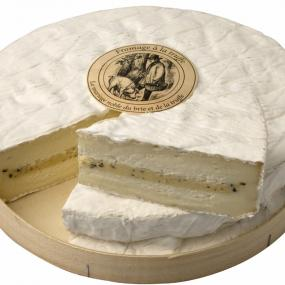 Brie with Summer Black Truffle