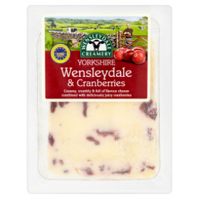 Clemency Hall Yorkshire Wensleydale with Cranberries